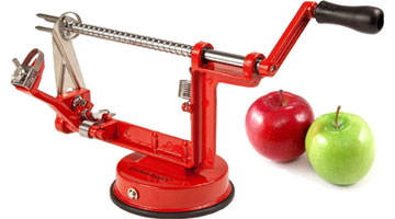 Easy Way to Peel Apples