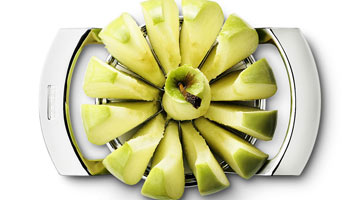 How To Use An Apple Peeler, Slicer And Corer